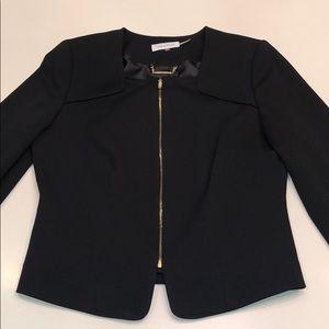 Calvin Klein unique style black blazer